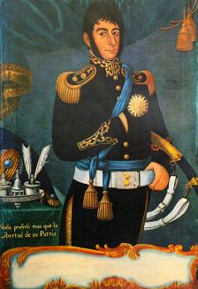 Óleo de José Gil de Castro - 1818 - M.H.N. Bs.As.