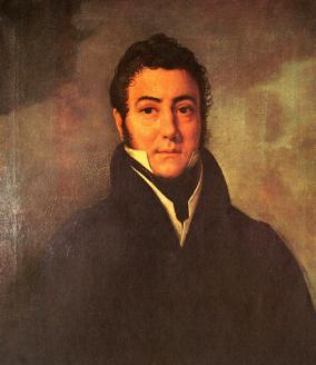 Óleo de Francisco José Navez - 1825 - M.H.N. Bs.As.