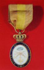 Nº28: Medalla de Bailén (premio militar español otorgado por la Junta Suprema de Sevilla).