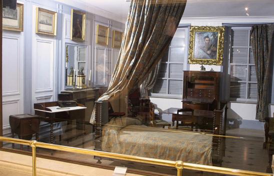 Nº38: Dormitorio del Prócer. Fotografía 2006. M.H.N. Bs.As.